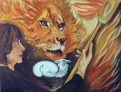Queen Esther Painting - Sceptre Of Judah by Shirley Offill