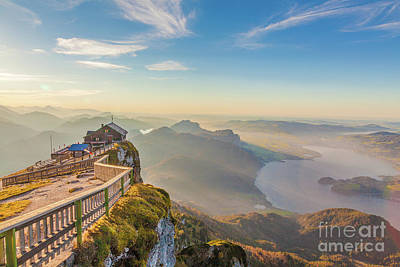 Photograph - Schafberg Mountain Panorama by JR Photography