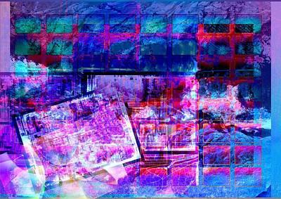 Digital Art - Schedule by Art Di