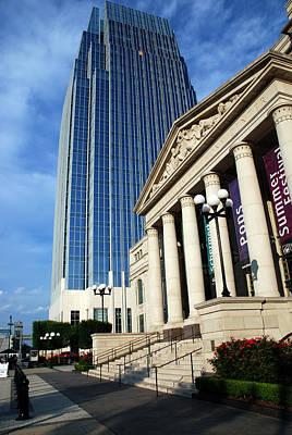 Schermerhorn Symphony Center Nashville Art Print by Susanne Van Hulst