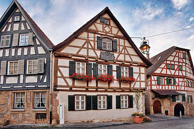 Charming Photograph - Schillers Geburtshaus by Marcia Colelli