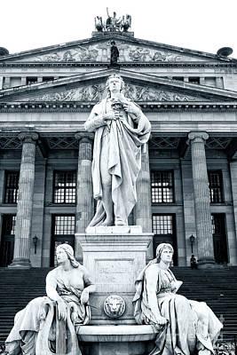 Photograph - Schiller Monument by John Rizzuto