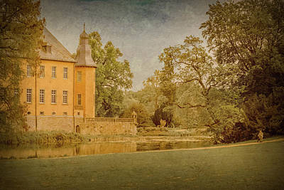 Photograph - Juchen, Germany - Schloss Dyck Garden Walk by Mark Forte