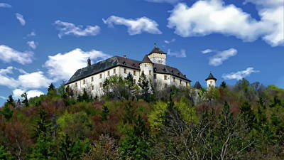 Photograph - Schloss Greifenstein by Anthony Dezenzio