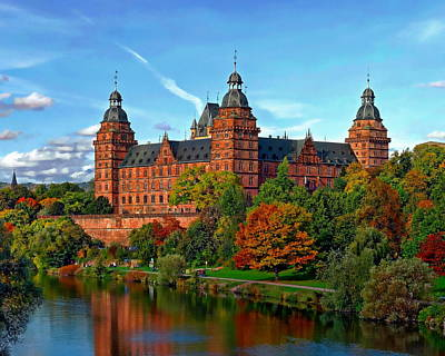 Photograph - Schloss Johannisburg by Anthony Dezenzio