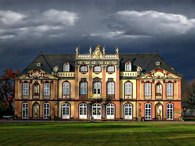 Photograph - Schloss Molsdorf by Anthony Dezenzio