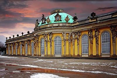 Residence Photograph - Schloss Sanssouci Potsdam  by Carol Japp