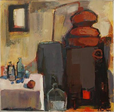 Painting - Schnapps Distillery, Nr. 14.31 by Adolf Pen
