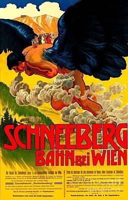 Schneeberg Bahn Bei Wien Railway Austria 1905 II Art Print