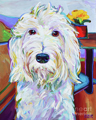 Painting - Schnoodle by Robert Phelps