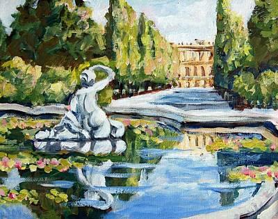 Schoenbrunn Palace Art Print by Alexandra Maria Ethlyn Cheshire