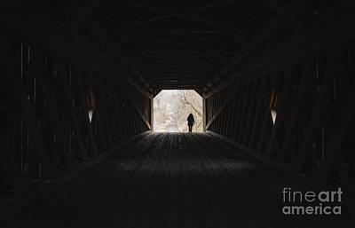 Photograph - Schofield Ford Covered Bridge by Debra Fedchin