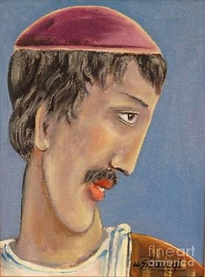 Painting - Scholar by Ushangi Kumelashvili