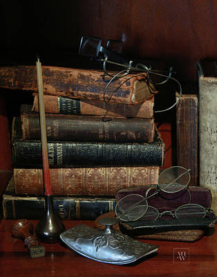 Photograph - Scholar's Attic by Yvonne Wright