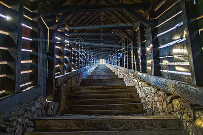 Photograph - Scholar's Stairs Sighisoara by Adam Rainoff
