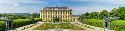 Photograph - Schonbrunn Palace And Garden In Vienna - Austria by Vlad Baciu