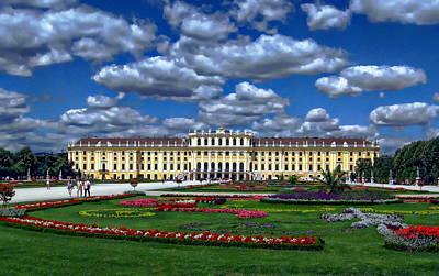Kids Alphabet - Schonbrunn Palace by Anthony Dezenzio
