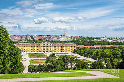 Photograph - Schonbrunn Palace by SW Images