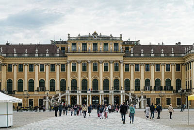 Photograph - Schonbrunn Palace by Sharon Popek