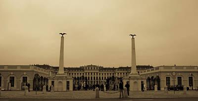 Photograph - Schonbrunn Palace - Vienna- Austria by Gabriella Szekely
