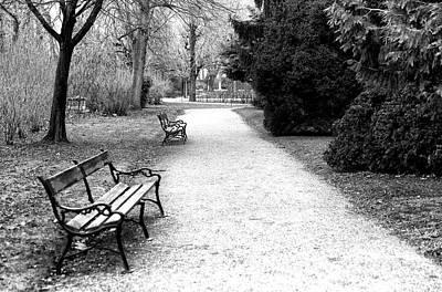 Photograph - Schonbrunn Path by John Rizzuto