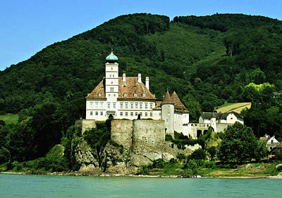 Digital Art - Schonbuhel Castle On The Danube by Max DeBeeson