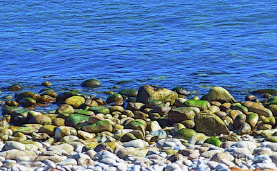 Photograph - Schoodic Beach Rocks by Patti Whitten