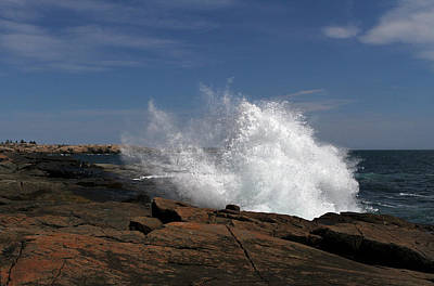 Photograph - Schoodic Point In Acadia National Park by Juergen Roth