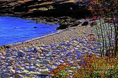 Photograph - Schoodic Stones by Patti Whitten