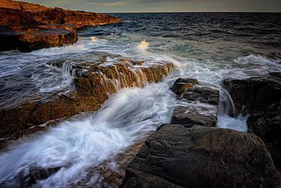 Photograph - Schoodic Tides by Rick Berk