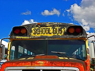 Photograph - School Days Gone By by Elizabeth Hoskinson