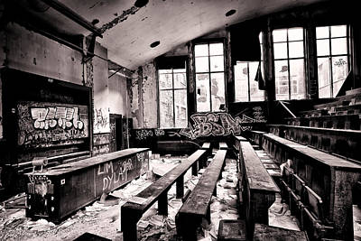 School Is Out - Urban Decay Art Print