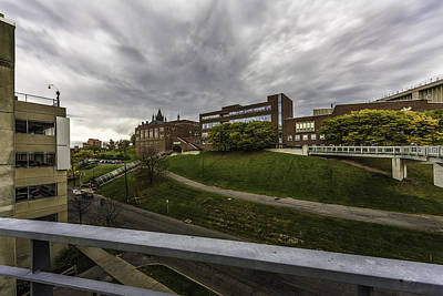 Syracuse University Photograph - School On The Hill by Everet Regal