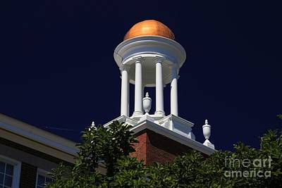 Photograph - School Steeple by Marcia Lee Jones