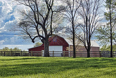 Photograph - Schooler Road Barn by Cricket Hackmann