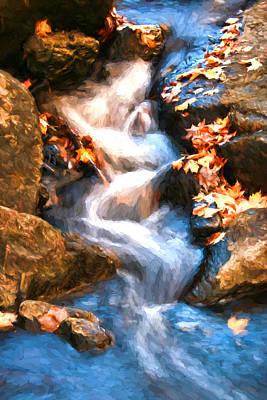 Photograph - Schooley's Mountain Falls by Allen Beatty