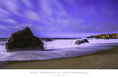 Photograph - Schoolhouse Beach Coastline by PhotoWorks By Don Hoekwater
