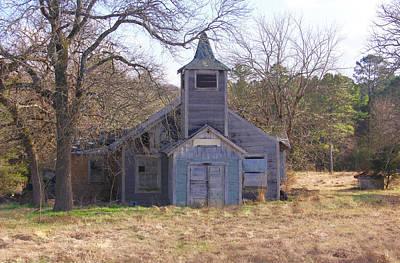 Photograph - Schoolhouse#3 by Susan Crossman Buscho
