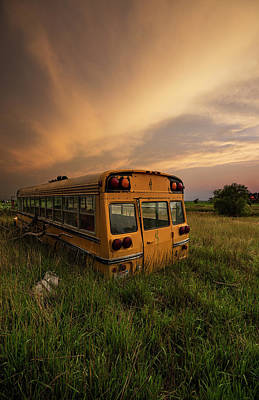Photograph - School's Out  by Aaron J Groen