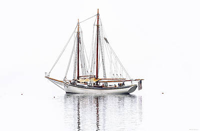 Photograph - Schooner American Eagle by Marty Saccone