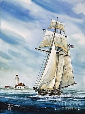 Schooner Californian Original by James Williamson