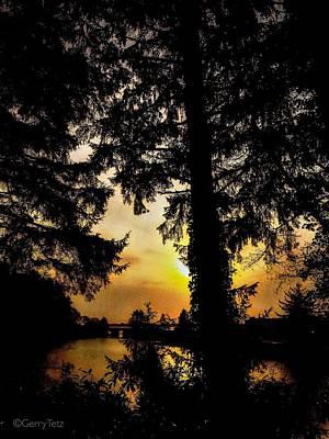 Photograph - Schooner Creek, Oregon by Gerry Tetz