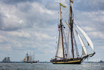 Photograph - Schooner Pride Of Baltimore by Dustin K Ryan