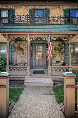 Photograph - Schroeder House 2 by Susan Rissi Tregoning