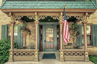 Photograph - Schroeder House by Susan Rissi Tregoning