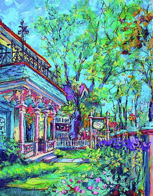 Painting - Schroeder's Inn by Les Leffingwell
