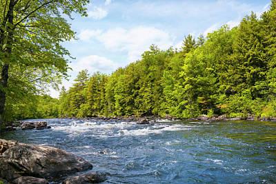 Photograph - Schroon River Adirondack Wilderness by Christina Rollo
