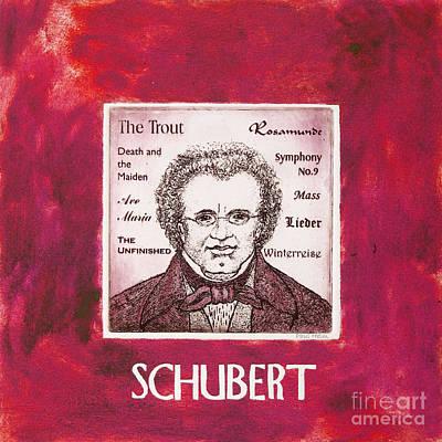Schubert Art Print by Paul Helm