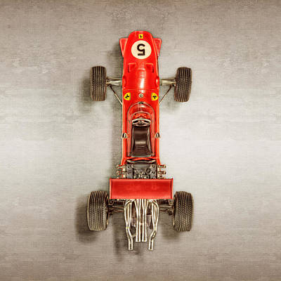 Photograph - Schuco Ferrari Formel 2 Top by YoPedro