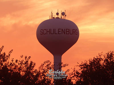 Photograph - Schulenburg Texas by Barbara Tristan